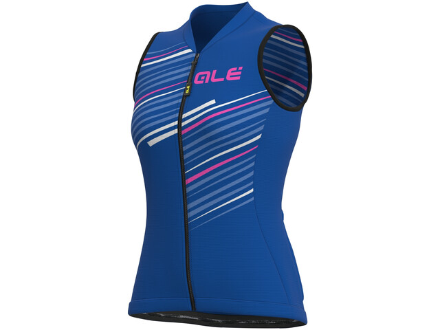 Alé Cycling Solid Flash SL Jersey Women, blue